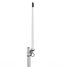 All Weather Wide Band LTE Omnidirectional Antenna, 698 - 2700MHz, 4m HDF-195 TNC-Male termination, m