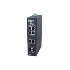 GbE Industrial switch 4*30W PoE, 2*SFP, 2*RJ45